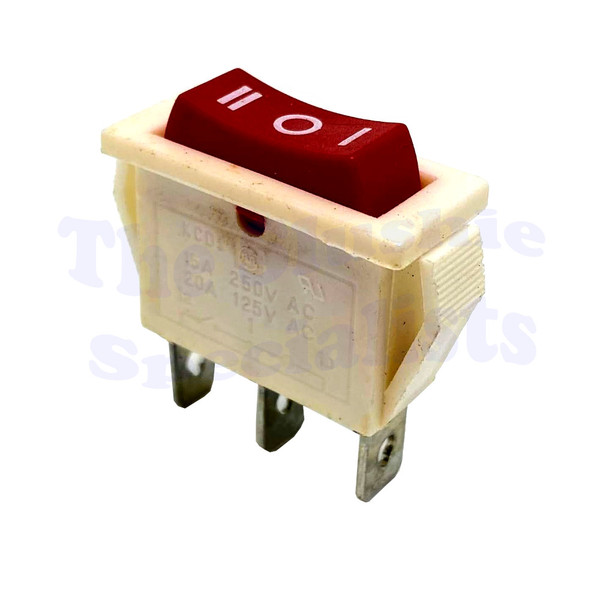Switch 3 Way Small - Red