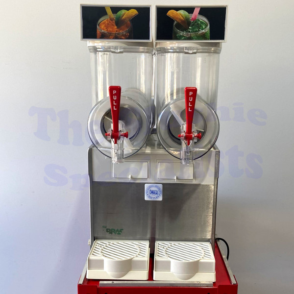 BRAS FBM 2 White Slushie Machine Pre-loved