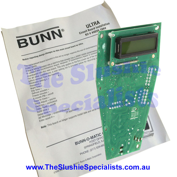 BUNN PC Control Board Pack for Ultra 2 - 1114440391