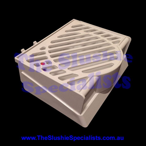 BRAS Drip Tray - Single White Complete 22800-00560,  22800-00660, 22900-06300