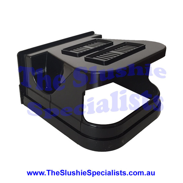 CAB Lid - Black Front Shell Only F001N