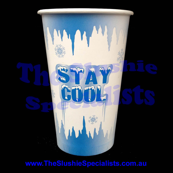 Stay Cool 16oz/450ml Paper Cup