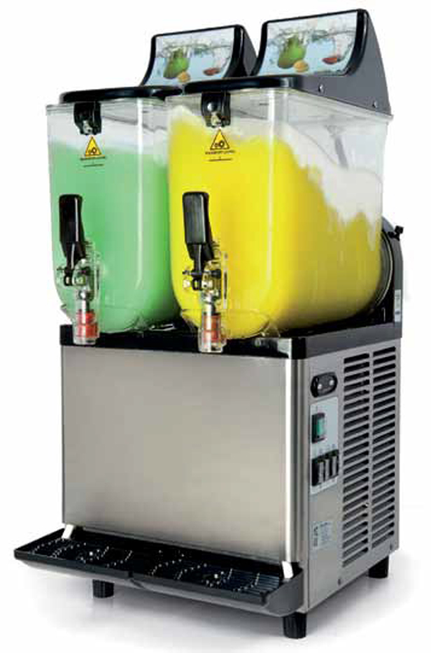 2 Bowl Carpigiani Slushie Machine