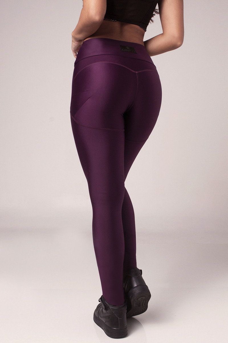 Shaping Sportlegging.Bb Up Sport Legging Purple Onfit Store