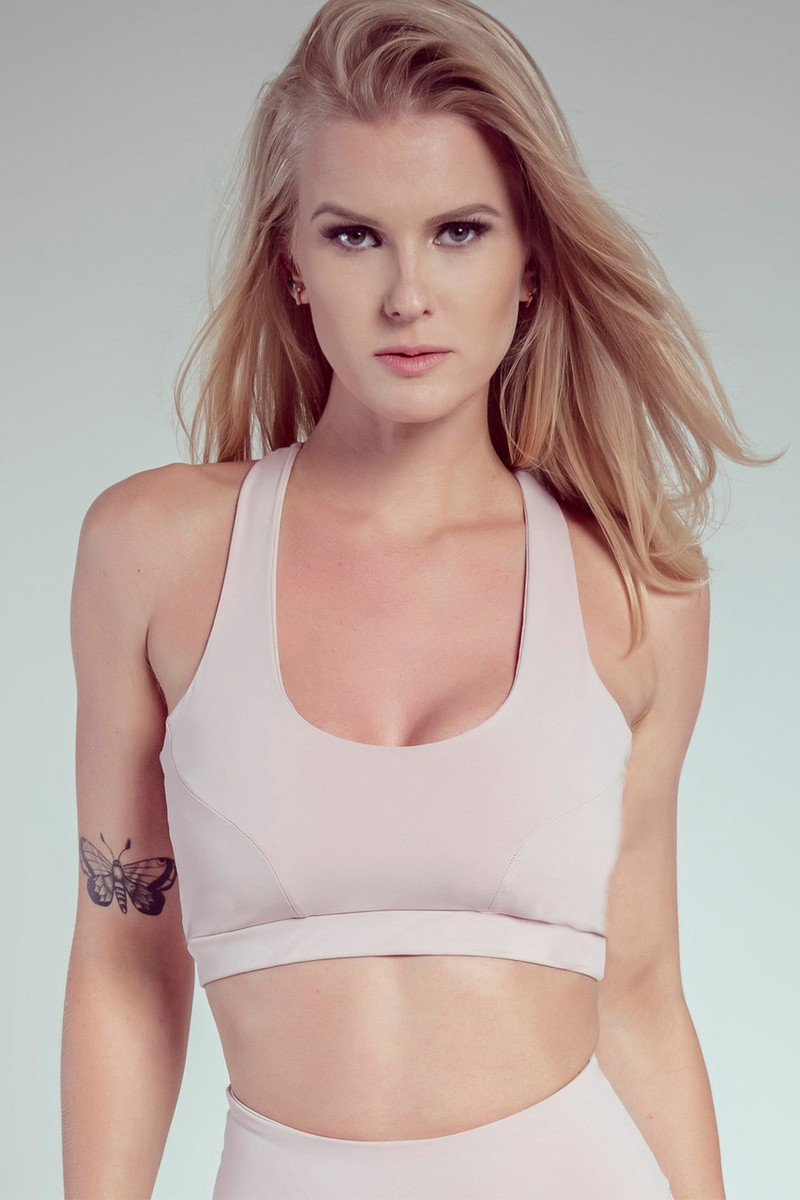cd789a6d143 EMPIRE Sports Bra Blush