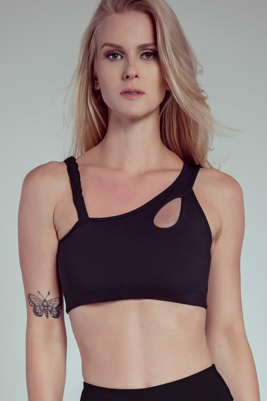 ASYMMETRIC Braid Bra