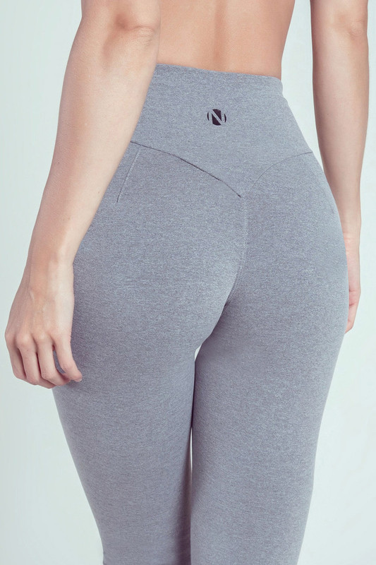BB.UP Yoga Legging Grey-Marl