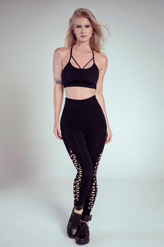 LIFT UP High-Waist Legging Black