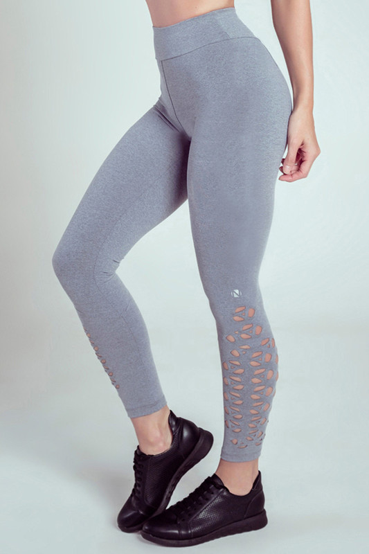 GEO Performance Legging Grey-Marl
