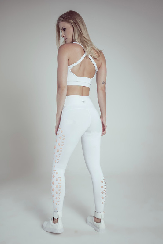 LIFT UP High-Waist Legging White