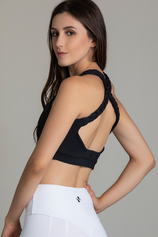 EMPIRE Sports Bra Black