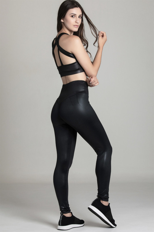 BB.UP Gloss High-Waist Legging Black