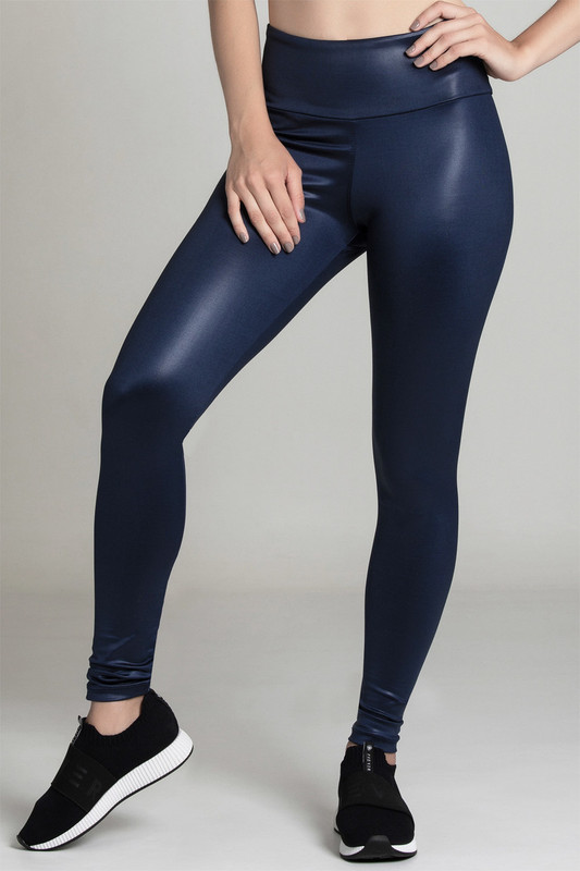 BB.UP Gloss High-Waist Legging Navy