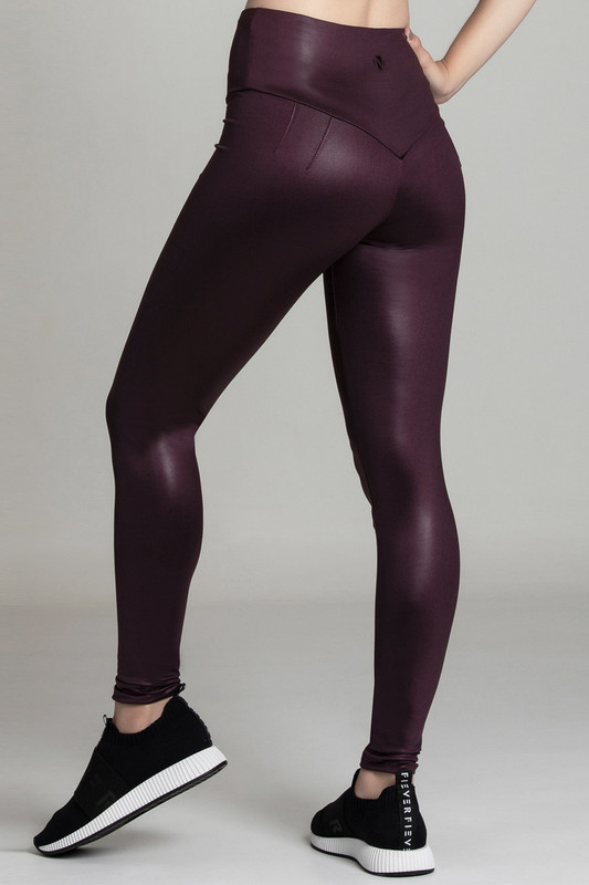 BB.UP Gloss High-Waist Legging Blackberry