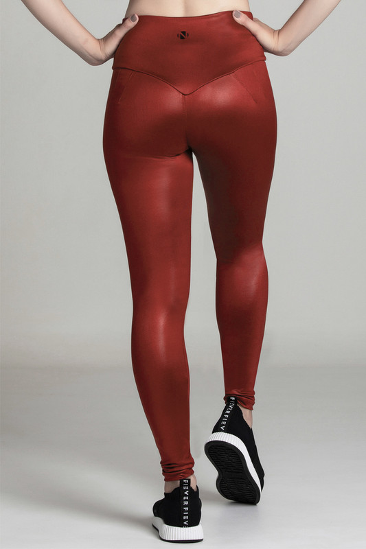 BB.UP Gloss Legging Red