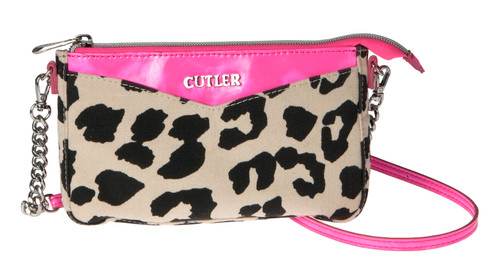 Oahu Pink Leopard Small Purse
