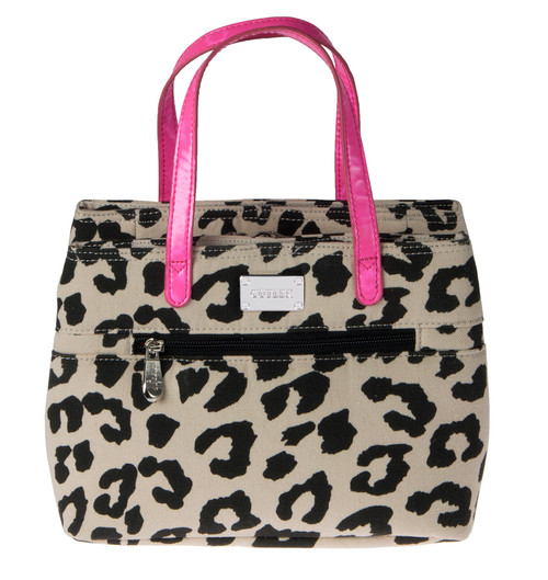 Oahu Pink Leopard Small Tote