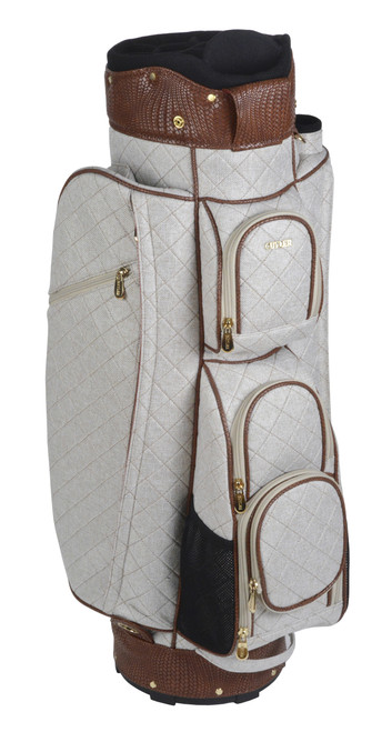 Fiiji Quilted Tan Golf Bag