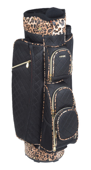 Java Quilted Black Golf Bag