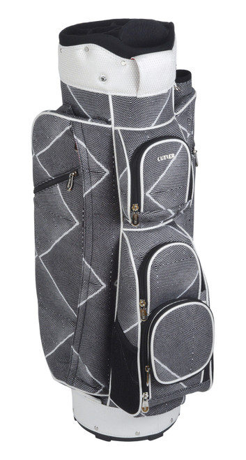Mykonos Black & White Golf Bag