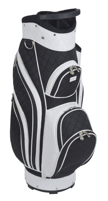 Santorini Black & White Golf Bag