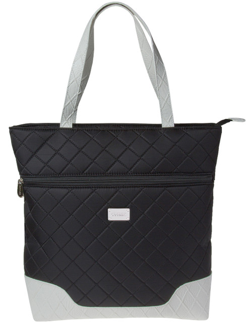 Santorini Black & White Large Tote