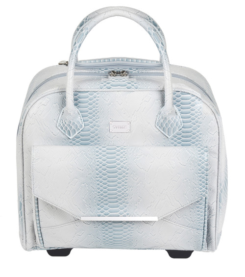 Galapagos White Snake Lux Tote Briefcase