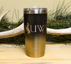 University of Wyoming logo engraved on 20 oz Yeti Rambler