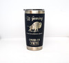 20 oz Navy Wyoming Social Distancing Since 1890 Yeti