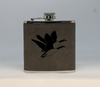 Gray Geese Flask