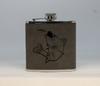 Gray Walleye Flask