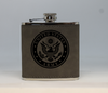 Gray  Army Flask