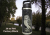 Engraved Owl on 26 oz YETI Bottle