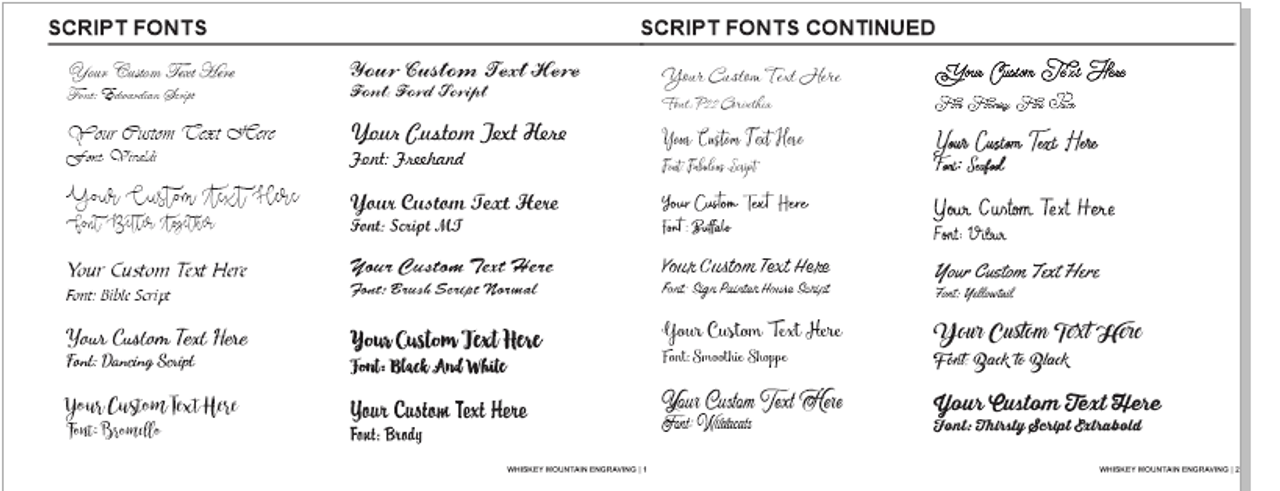 Fonts Page 3