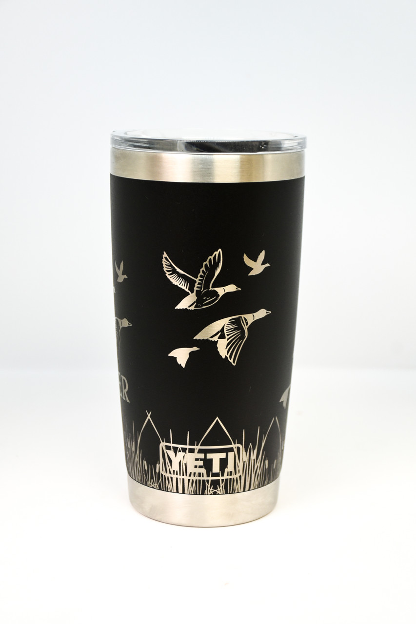 Black 20 oz Yeti Duck Wrap