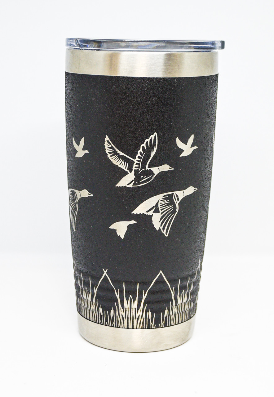 Black 20 oz Duck Wrap Tumbler