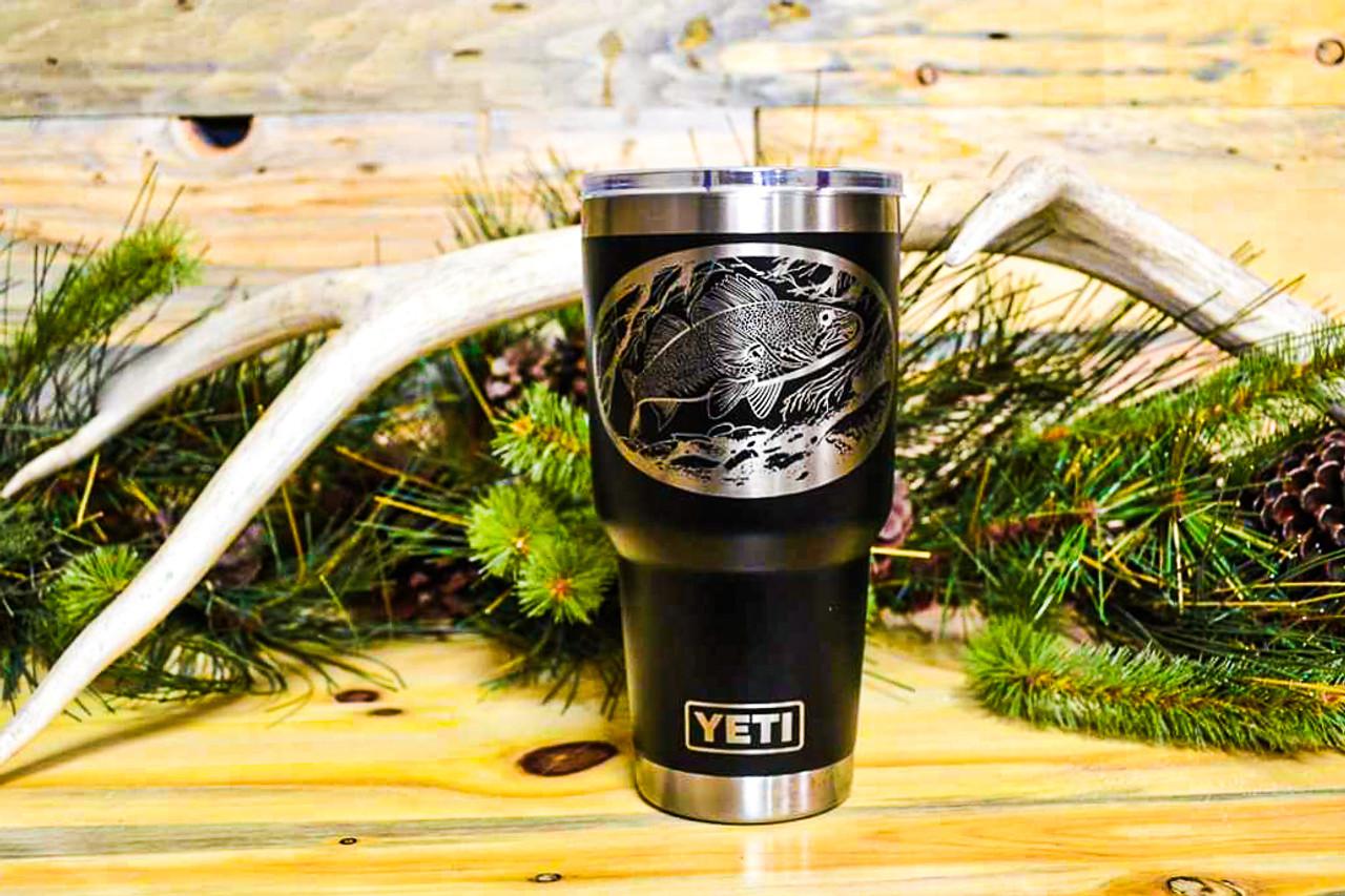 30 oz Yeti Walleye on the Hunt