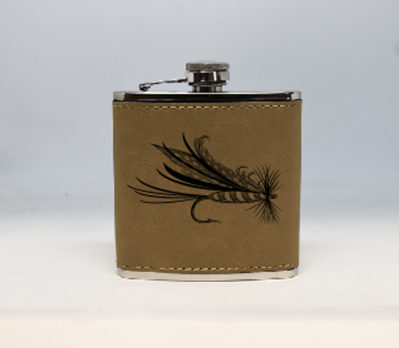 Tan Fly Flask