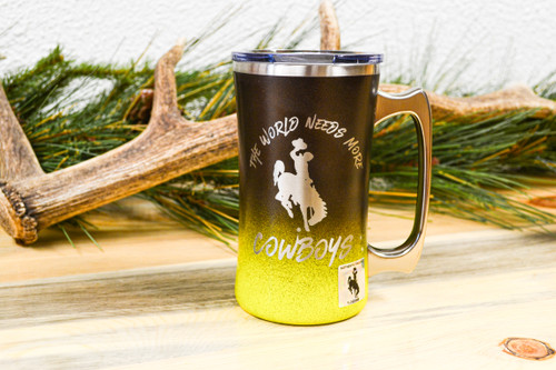 World Needs More Cowboys 20oz mug