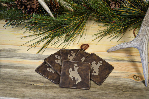University of Wyoming Steamboat Coasters