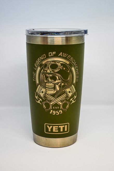 20 oz Yeti Legend of Awesomeness