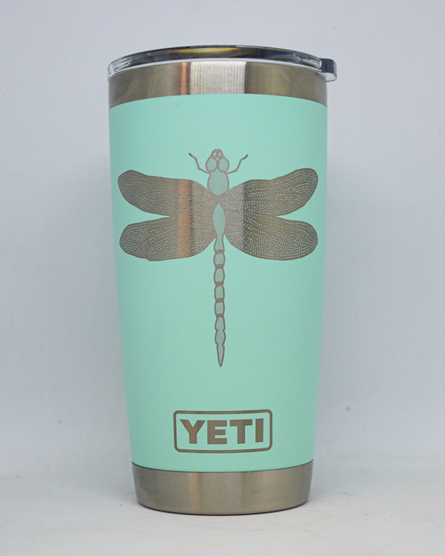 Dragon Fly  Laser Engraved Yeti