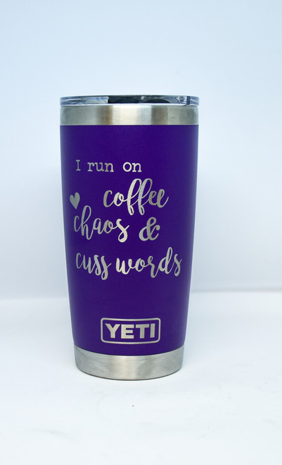 Coffee and Cuss words 20 oz