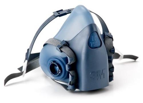 3M Half-Face Reusable Respirator, 7500 Series