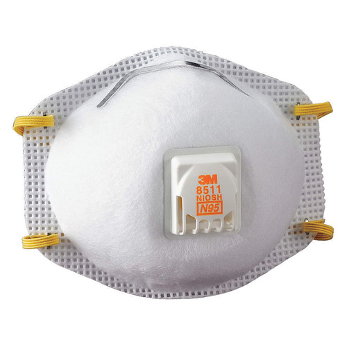 Disposable Respirator w/ Exhale Valve, N95