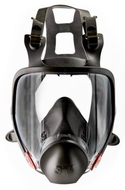 3M Full-Face Reusable Respirator, 6000 Series