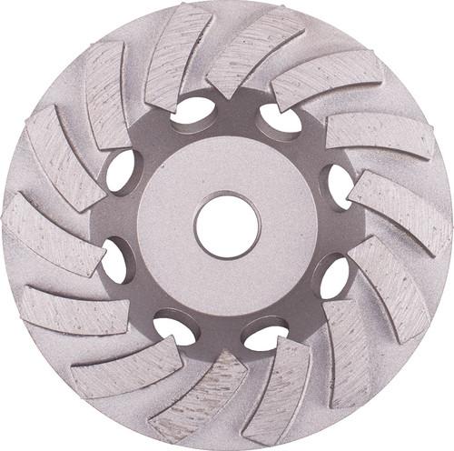 "4-1/2"" Cup Wheel, Double Row Turbo"
