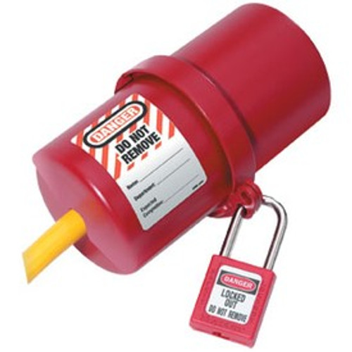 Rotating Electrical Plug Lockout, Large