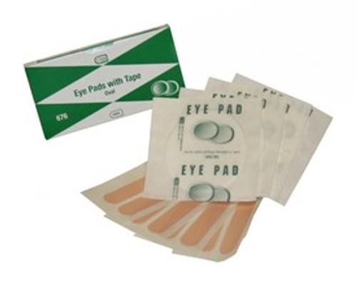 Eye Pads & Tape, 4/Unit