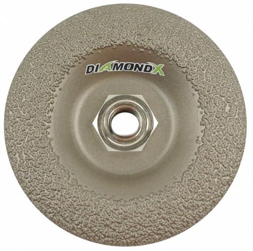 "4-1/2"" Type 29 50 Grit Diamond X Grinding Wheel"